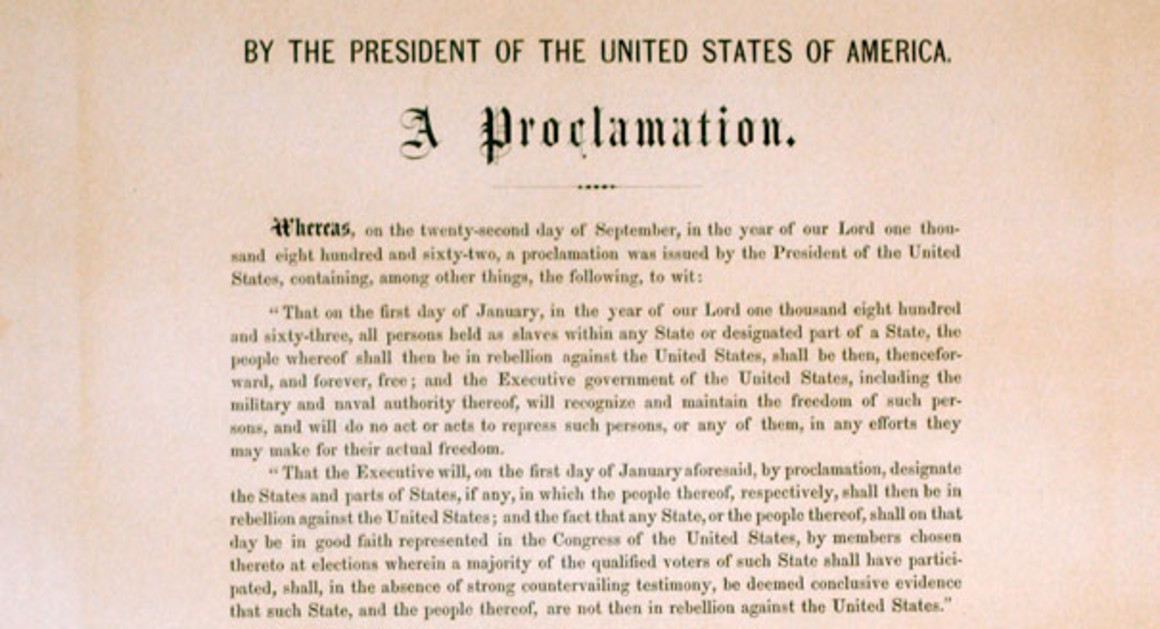 https://www.politico.com/story/2012/06/emancipation-proclamation-copy-sells-for-21m-at-new-york-auction-077885